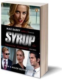 Syrup movie tie-in edition, showing Amber Heard, Kellan Lutz, Brittany Snow, and Shiloh Fernandez