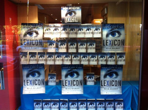 Many copies of Lexicon at Pages and Pages Booksellers, 878 Military Rd, Mosman Junction NSW, Australia