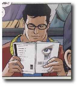 Clark Kent reads Jennifer Government
